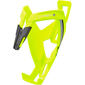 Elite Custom Race Plus Bidonhouder, yellow fluo/black graphic